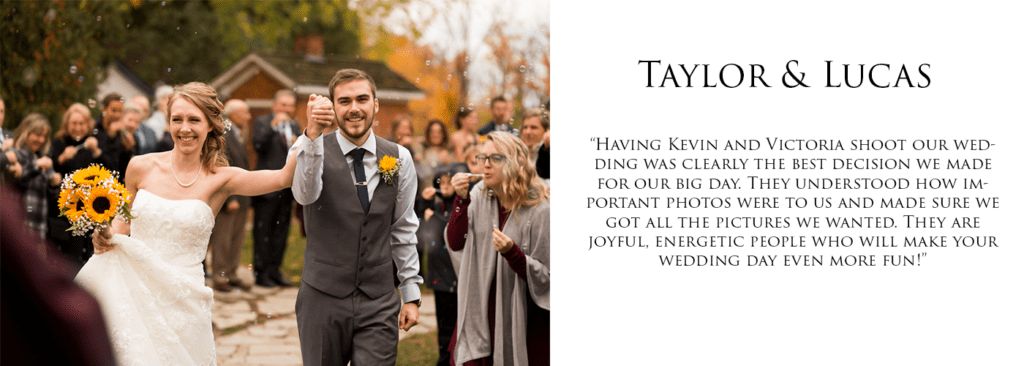 Best Niagara Wedding Photographer