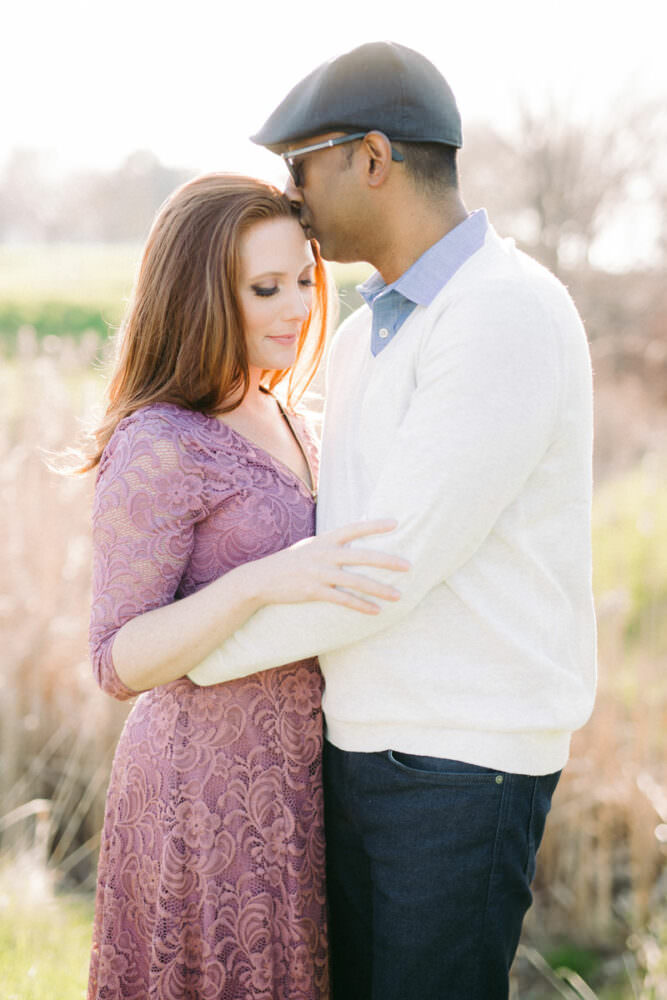 Niagara on the lake engagement photo