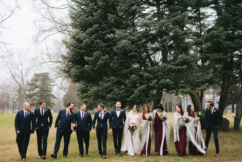 Niagara Winter Wedding