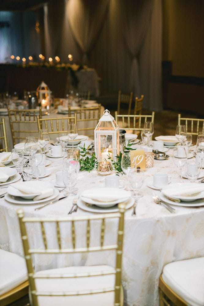 Reception Details at Club Roma
