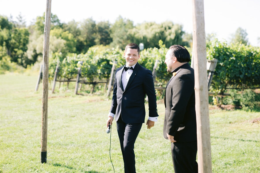Ravine Vineyard Estate Winery Wedding