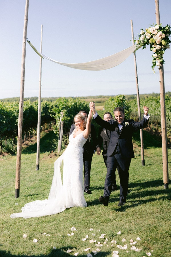 Niagara Vineyard Wedding