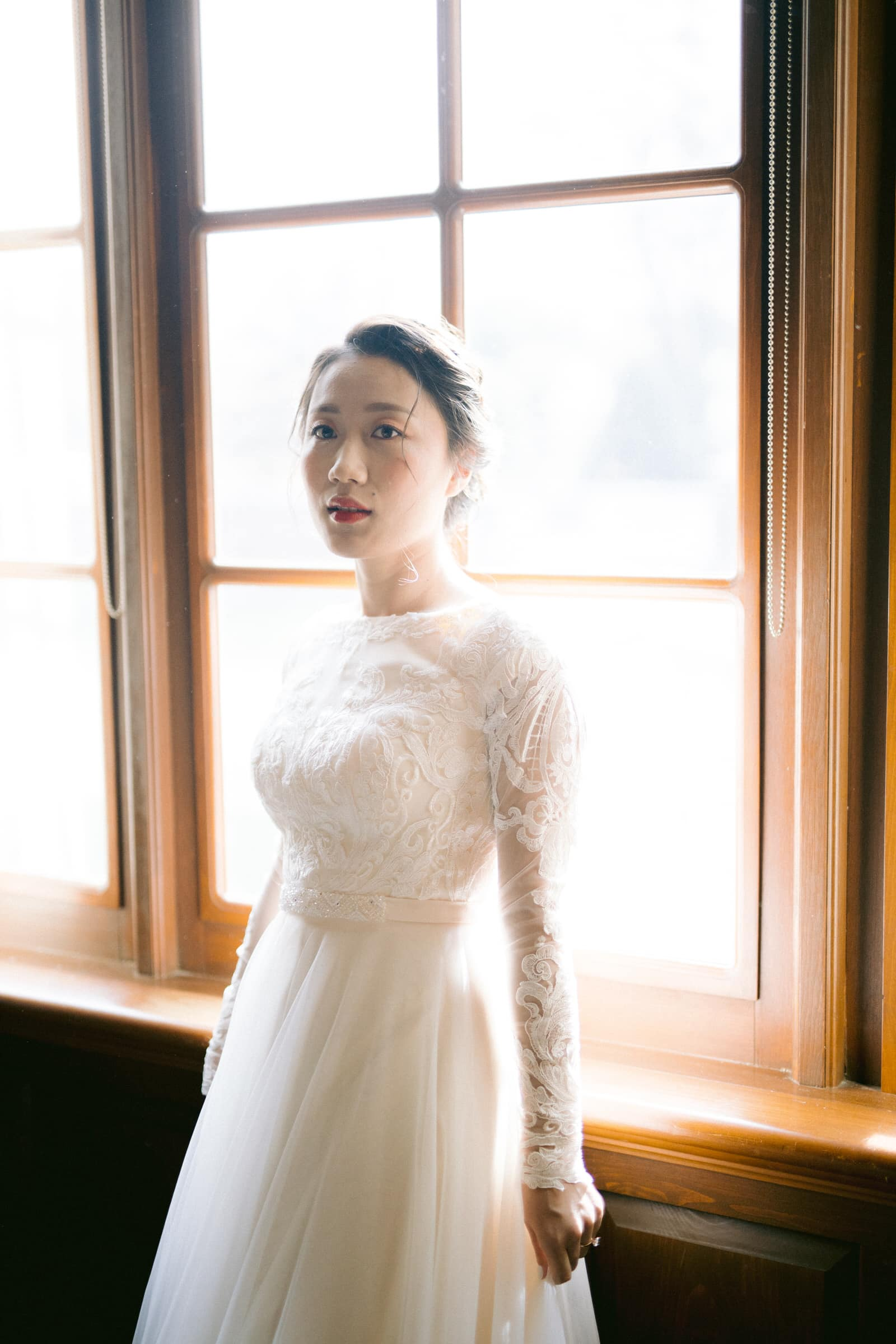Bride in the Secord Room at Pillar & Post